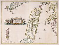 MAP ANTIQUE 1654 SCOTLAND BLAEU JURA HISTORIC LARGE REPLICA POSTER PRINT PAM0128