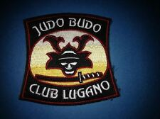 Vintage 1980's Judo Budo Club Lugano Martial Arts MMA Uniform Gi Patch Crest 444