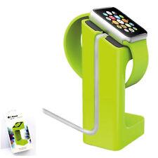 Dock para Apple Watch Soporte de Carga Verde Charger Stand Estación 38 42mm