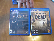 The Walking Dead Complete First Season + Season Two PS VITA Sony PSVITA COMBO