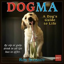 2021 Dogma: A Dogs Guide to Life 16-Month Monthly View Wall Calendar, 12