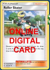 4X Roller Skater 203/236 Cosmic Eclipse Pokemon Online Digital Card