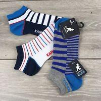 3x pairs boys thomas the tank trainer socks size 3-7 infant