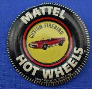 Vintage Mattel Hot Wheels Custom Firebird Badge