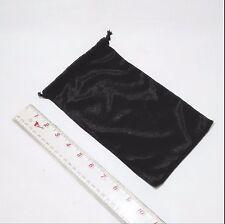 25 × black jewelry gift bag velvet X1I2