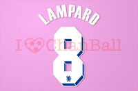 Lampard #8 2011-2012 Chelsea UEFA Chaimpons League Homekit Nameset Printing
