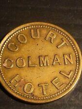 More details for welsh pub token court colman hotel nantymoel (united kingdom)