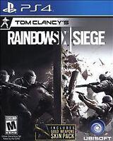 Tom Clancy's Rainbow Six Siege (PlayStation 4, 2015)