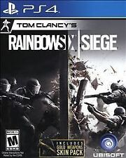 Tom Clancy's Rainbow Six Siege Bonus (Sony PlayStation 4, 2015)
