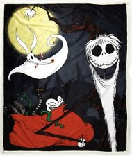 THE NIGHTMARE BEFORE CHRISTMAS JACK SKELLINGTON SHERPA FLEECE BLANKET 50 X 60