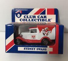 AFL SYDNEY SWANS Car Collectibles Model A Ford 1995 Matchbox Toys NEW