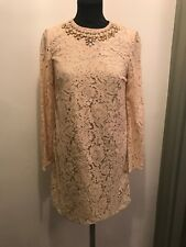 Needle & Thread Beaded Lace Detail Dress Size 10