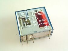 MORS TEC 6V DC Coil Relay SPCO Switching 250Vac 16A PCB Mounting OM0345A