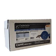 210 capsule caffè Cialdeitalia DEKA BLU compatibile LAVAZZA A MODO MIO