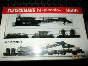Fleischmann Piccolo 90T - Kranzug - 8599  - Spur N - OVP