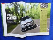VW Polo GTI 180 PS - Test - Auto Motor Sport Heft 14/2010