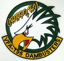 USN VFA-195 DAMBUSTERS CHPPY HO! PATCH