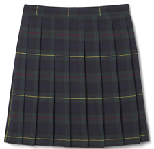 French Toast Girls' Plaid Pleated Skirt Size 12-16