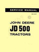 John Deere 500  Tractor Loader Service Shop Manual 2057
