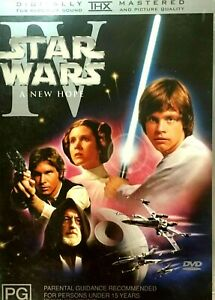 Star Wars : A New Hope :   New Old Aus Stock : NEW DVD * FREE EXPRESS POST *