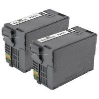 2 T252XL T252XL120 HY Black Printer Ink Cartridge for Epson WorkForce WF-3620