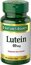 2 Pack - Nature's Bounty Lutein Softgels 40Mg 30 Each