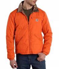 Carhartt Woodsville Reversible Jacket Men's Size 4XL Orange/Camo 101740-820 NWT