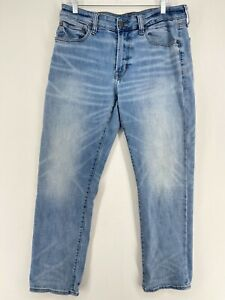 American Eagle Outfitter Mens 34x30 Next Level Airflex Original Straight Jeans