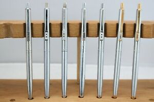 Vintage (c1980) Paper Mate Profile Flighter Ballpoint Pens, 7 Finishes, UK
