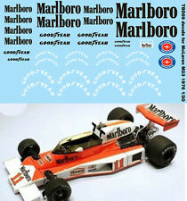 1/20 MCLAREN M23 1976 FOR TAMIYA SPONSOR DECALS TB DECAL TBD89