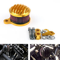 Air Cleaner Intake Filter System Kit for Sportster XL883/XL1200 1988-2015 G/A