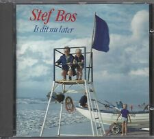Stef Bos ‎– Is Dit Nu Later    cd