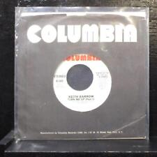 "Keith Barrow - Turn Me Up (Part 1) 7"" Mint- Promo Vinyl 45 Columbia 3-10901 USA"