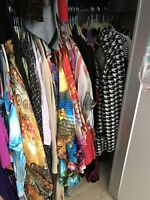 Lot of 50pc Mixed Clothes Womens Juniors Childrens Wholesal Consignment S M L XL
