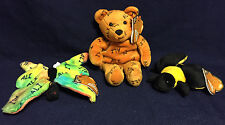 Set of 3 Muhammad ALI  SALVINO'S BAMMERS  Plush  BEAR,  BUTTERFLY,  BEE  New!