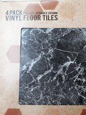 8 x self adhesive vinyl kitchen floor tiles
