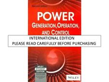 Power Generation Operation and Control, 2nd ed. (With CD ROM) by Allen J. Wood &