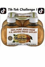 Martinelli's Gold Medal 100% Apple Juice 10 Fl. oz *1 Bottle* TIK TOK