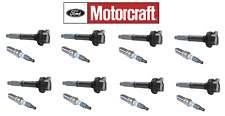 8+Motorcraft Ignition Coil DG542 & 8+SP548A for F150 11-16 5.0 Mustang 11-16 5.0