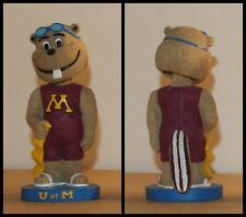 Goldy Gopher Mascot Bobblehead University Minnesota Swimming U of M Rare SGA