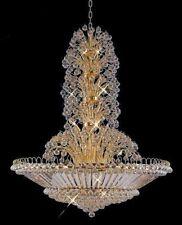 "Palace Galaxy  43 Light 60"" Crystal Chandelier Light - Gold"