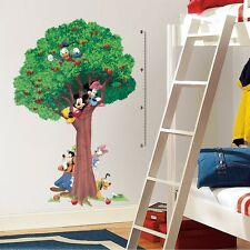 """Disney MICKEY MOUSE 60"""" TREE GROWTH CHART Wall Decals Vinyl Room Decor Stickers"""