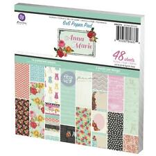 """**NEW**Prima Marketing Inc: Anna Marie Collection 6""""x6"""" Paper Pad"""