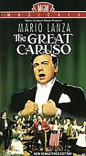 The Great Caruso (VHS, 1993, REMASTERED)