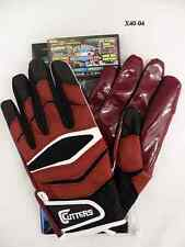 Cutters Gloves Football X40 Revolution Maroon Size XXL New