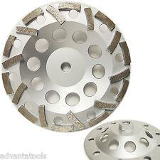 "7"" Premium L-Seg Cup Wheel for Concrete 5/8""-11 Threads 30/40 Grit"