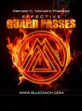 BJJ EFFECTIVE GUARD PASSES Brazilian Jiu Jitsu DVD