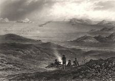 """King George's Sound"", Tasmania by Edwin Carton BOOTH / J. CARR. Australia c1874"