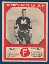 DAVE TROTTIER RC 33-34 V252 HAMILTON GUM 1933-34 NO 47 GOOD+ 22081