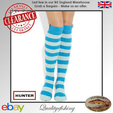 CLEARANCE: Hunter Socks Harlington Mustang Blue One Size